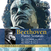 Beethoven: Piano Sonatas, Vol 1 - Nos. 1, 2 and 3 by Sequeira Costa