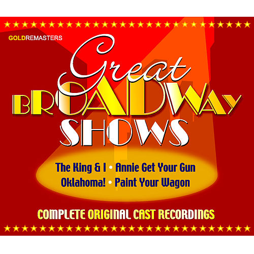 Play & Download Great Broadway Shows (Vol. 1-2) by Various Artists | Napster