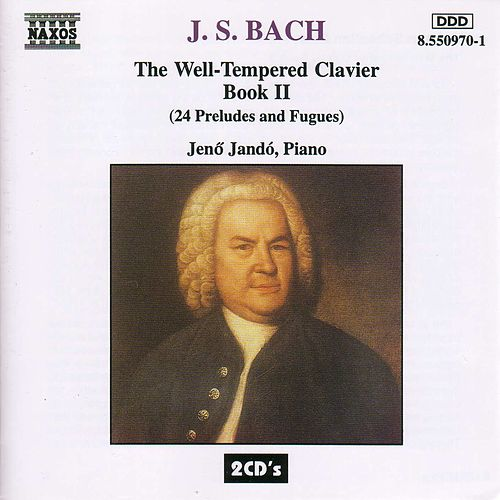 The Well-Tempered Clavier Book II by Johann Sebastian Bach
