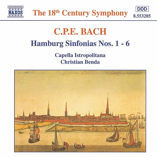 Play & Download Hamburg Sinfonias, Wq. 182 by Carl Philipp Emanuel Bach | Napster