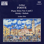 Play & Download FOOTE: Piano Trios Nos. 1 and 2 / Melody / Ballade by Arden Trio | Napster