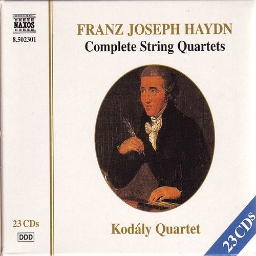 Play & Download HAYDN: Complete String Quartets by Kodaly Quartet | Napster