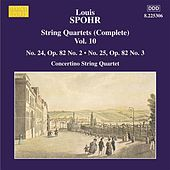 Play & Download SPOHR: String Quartets Nos. 24 and 25 by Moscow Philharmonic Concertino Quartet | Napster