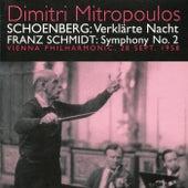 Play & Download Schoenberg: Verklarte Nach - Schmidt: Symphony No. 2 (1958) by Vienna Philharmonic Orchestra | Napster