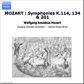 Play & Download MOZART : Symphonies K.114, 134 & 201 by Cologne Chamber Orchestra | Napster