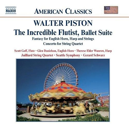 PISTON: The Incredible Flutist / Fantasy for English Horn, Harph and Strings by Various Artists