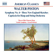 PISTON: Symphony No. 4 / Three New England Sketches by Various Artists