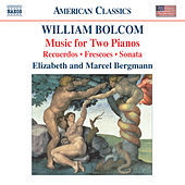 Play & Download BOLCOM: Music for Two Pianos by Elizabeth Bergmann | Napster