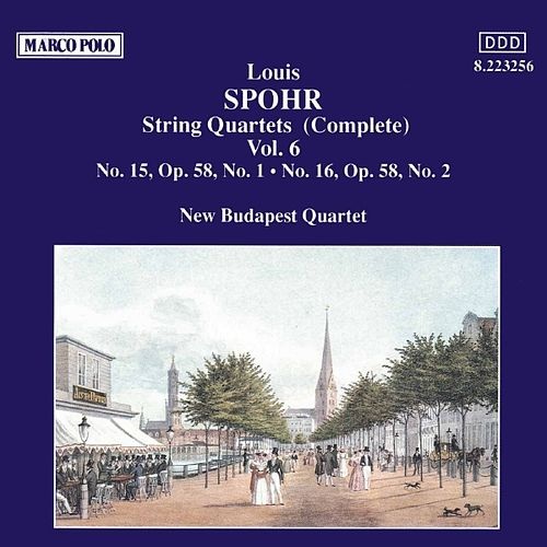 Play & Download SPOHR: String Quartets Nos. 15 and 16 by New Budapest Quartet | Napster