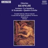 Play & Download RESPIGHI: Aretusa / La Sensitiva / Il Tramonto by Faridah Schafer-Subrata | Napster