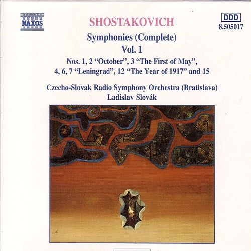 Play & Download SHOSTAKOVICH : Symphonies (Complete) Vol.  1 by Slovak Philharmonic Chorus   Napster
