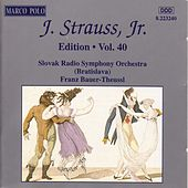 Play & Download STRAUSS II, J.: Edition - Vol.  40 by Various Artists | Napster