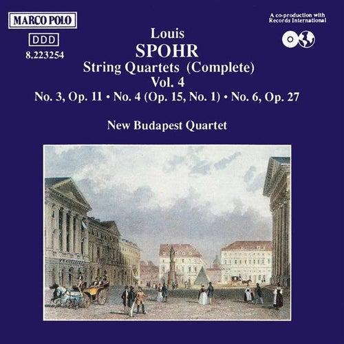 SPOHR: String Quartets Nos. 3, 4 and 6 by New Budapest Quartet