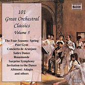 101 GREAT ORCHESTRAL CLASSICS, Vol.  5 by Various Artists