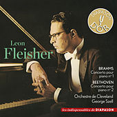 Play & Download Brahms: Concerto pour piano No. 1 & Beethoven: Concerto pour piano No. 2 (Les indispensables de Diapason) by Leon Fleisher | Napster