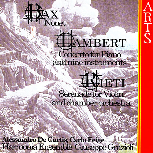 Play & Download Bax / Lambert / Rieti by Harmonia Ensemble | Napster