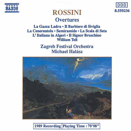 Overtures by Gioachino Rossini
