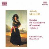 Sonatas for Harpsichord Vol. 3 by Antonio Soler