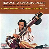 Homage To Mahatma Gandhi by Ravi Shankar