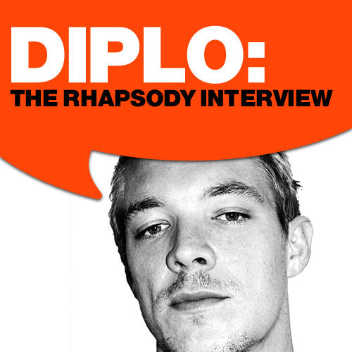 Play & Download Diplo: The Rhapsody Interview by Diplo | Napster