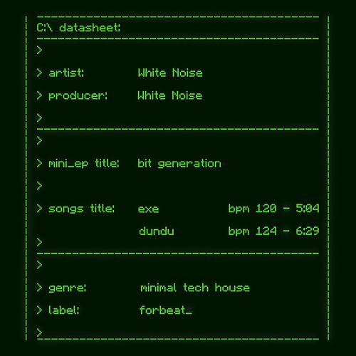 Bit Generation by White Noise