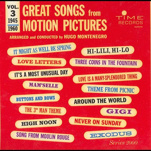 Play & Download Great Songs From Motion Pictures 3 by Hugo Montenegro | Napster