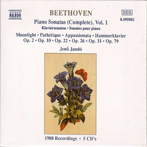 Play & Download BEETHOVEN: Piano Sonatas, Vol.  1 (Complete) by Jeno Jando | Napster