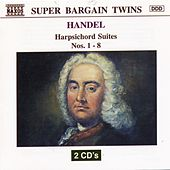 HANDEL : Harpsichord Suites Nos. 1 - 8 by Alan Cuckston