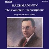 RACHMANINOV: Piano Transcriptions (Complete) by Sequeira Costa