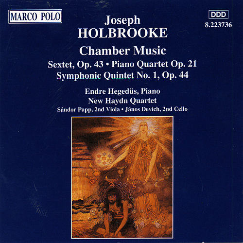 Play & Download HOLBROOKE: Chamber Music by New Haydn Quartet | Napster