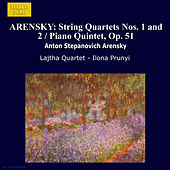 ARENSKY: String Quartets Nos. 1 and 2 / Piano Quintet, Op. 51 by Various Artists