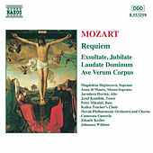 Play & Download MOZART: Requiem / Exultate, Jubilate / Laudate Dominum by Slovak Philharmonic Chorus | Napster
