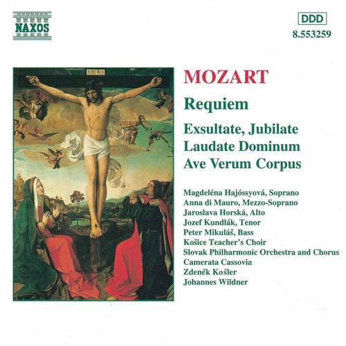 Play & Download MOZART: Requiem / Exultate, Jubilate / Laudate Dominum by Slovak Philharmonic Chorus   Napster