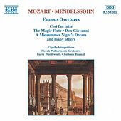 Play & Download MOZART / MENDELSSOHN: Famous Overtures by Various Artists | Napster