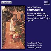 Play & Download KORNGOLD: Violin Sonata, Op. 6 / Piano Quintet, Op. 15 by Andras Kiss | Napster