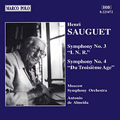 Play & Download SAUGUET: Symphonies Nos. 3 and 4 by Moscow Symphony Orchestra | Napster