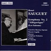 Play & Download SAUGUET: Symphony No. 2, Allegorique by Genevieve Ruscica | Napster