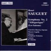 SAUGUET: Symphony No. 2, Allegorique by Genevieve Ruscica