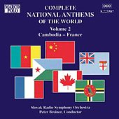 National Anthems of the World, Vol. 2: Cambodia - France by Slovak Radio Symphony Orchestra