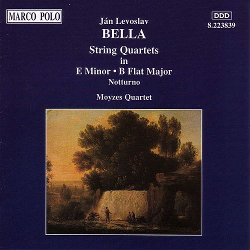 BELLA: String Quartets by Moyzes Quartet
