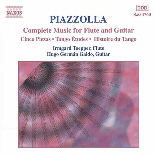 Play & Download Music for Flute and Guitar by Astor Piazzolla | Napster