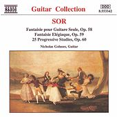 Play & Download SOR: 25 Progressive Studies, Op. 60 / Fantaisie Elegiaque by Nicholas Goluses | Napster