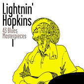 43 Blues Masterpieces de Lightnin' Hopkins