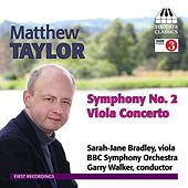 Taylor: Symphony No. 2 / Viola Concerto by Various Artists
