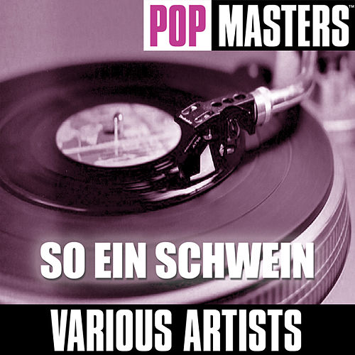 Play & Download Pop Masters: So Ein Schwein by Various Artists | Napster