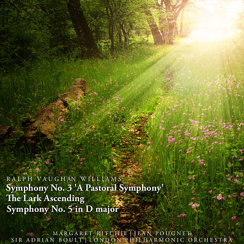 Ralph Vaughan Williams: Symphony No. 3 'A Pastoral Symphony', The Lark Ascending, Symphony No. 5 in D Major by Various Artists