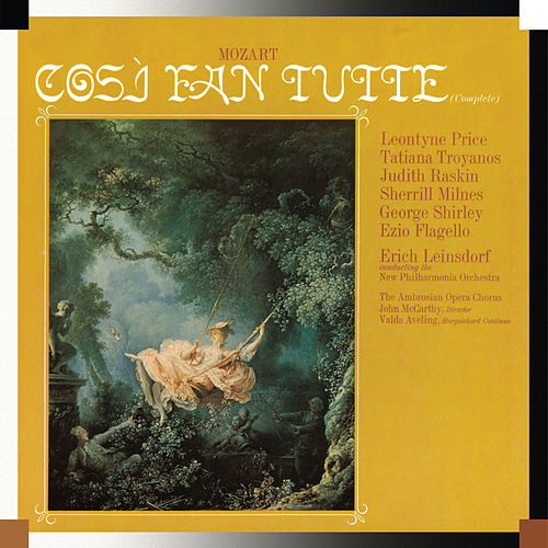 Play & Download Mozart: Così fan tutte by Erich Leinsdorf | Napster