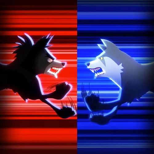 Play & Download Insanity Wolf vs. Courage Wolf by Animeme Rap Battles | Napster