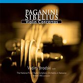 Play & Download Paganini & Sibelius: Violin Concertos by Vadim Brodski | Napster
