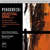 Penderecki: Orchestral Works, Vol. 1 by Cracow Philharmonic Orchestra